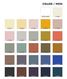 Color/MEN - Fashion Textiles Trends Autumn/Winter 2013-2014: Hands On - Lenzing Colors / Color Trends