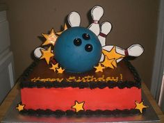 Bowling Cake by CoolCakes, via Flickr
