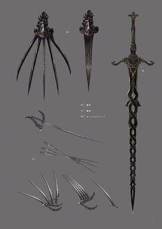Dark Souls 3 Artbook: Arms 2 Dark Souls, Dark Souls 3, артбук, Концепт-арт, оружие, длиннопост