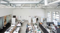 Coalesse Studio in San Francisco has workspaces and collaborative areas that can be configured to support collaboration and private work. Furniture Design, Open Spaces, Workspaces, Studio, Collaboration, Table, San Francisco, Inspiration, Home Decor