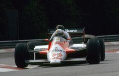 1983 Spa-Francorchamps Marlboro Alfa Romeo 183T Andrea de Cesaris