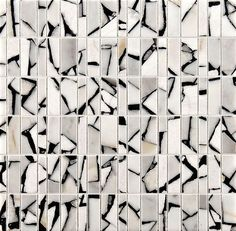 Mosaic tiles by Ann Sacks - these would make a great addition to a contemporary bathroom.