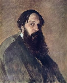"artist-perov: ""Portrait of the Painter Alexey Savrasov, Vasily Perov Size: cm Medium: oil on canvas"" Digital Museum, Scandinavian Art, Collaborative Art, Portrait Art, Figure Painting, Great Artists, Art History, Fine Art America, Artwork"