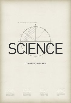 Science. No matter what you say or think, science always works, and is always right. So shut up.