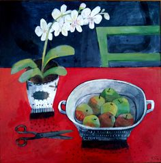 Este MacLeod still life with pair of scissors