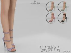 Sabina Shoes for The Sims 4