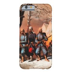Civil War Winter Camp iPhone 6 Case #civilwar #BiM