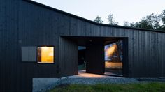 Lund Hagem's cabin is designed to withstand Norway's harsh winters