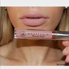 Anastasia liquid lipstick PURE HOLLYWOOD New only tested once decided not the color for me but missed the return window. This ultra-saturated liquid formula delivers an intense shot of matte pigment in one easy swipe. A single application gives you smear-resistant coverage that stays put for hours. Anastasia beverly hills Makeup Lipstick