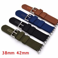 $9.02 (Buy here: https://alitems.com/g/1e8d114494ebda23ff8b16525dc3e8/?i=5&ulp=https%3A%2F%2Fwww.aliexpress.com%2Fitem%2FNew-Style-Canvas-Blue-Black-Brown-Green-Nylon-Sport-Wrist-Apple-Watch-Strap-For-iwatch-band%2F32722786367.html ) Brown Black Blue Green Sport Style Watchband, 38MM/42MM For Apple Watch Watchbands,Men Nylon Strap With Adapter , Fast Delivery for just $9.02
