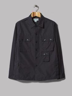 Sassafras Garden Dress Uniform Jacket (Navy Weeds Poplin)