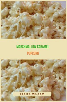 We all make popcorn. Even a novice could easily make them out of compulsion before watching a game or some movie. But here's a recipe to take popcorn to the next level. Marshmallow caramel popcorn are Ww Recipes, Skinny Recipes, Cooking Recipes, Recipies, What's Cooking, Healthy Snacks, Healthy Eating, Healthy Recipes, Delicious Recipes