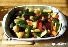 Tavaszi sült zöldségek