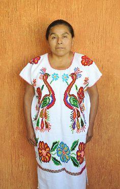 Mazatec Woman Oaxaca Mexico