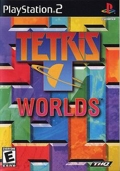 Tetris Worlds (Sony PlayStation 2, 2002) Disc only