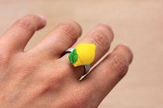 PetitPlat Handmade Miniature Food: DIY - Lemon Ring