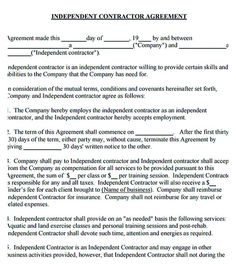 Independent Contractor Agreement , 11+ Subcontractor Agreement Template For  Successful Contractor Company , A Subcontract