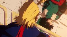 All Might and Izuku    Boku no Hero Academia