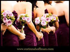 © Corinna Hoffman Photography - www.corinnahoffman.com - St. Augustine, Florida - Jacksonville, FL and  St. Augustine Wedding Photographer - River House - Bridesmaids - Bouquets - Purple Wedding