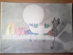 This is my art. I'm 11 years old, and I think it's okay from me, to draw like this. :D