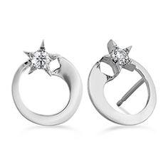 Illa Circle Stud Earrings #myHOFwishlist