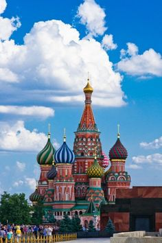 The Cathedral of Vasily The Blessed, Red Square, Moscow, Russia
