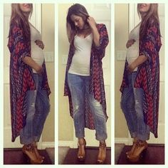 Pregnancy Fashion for Winter and Fall