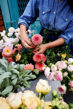 Behind the scenes with florist Amy Merrick | west elm