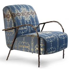 Anjou Arm Chair and Ottoman                                                                                                                                                                                 More
