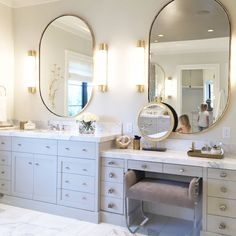 Utah Parade of Homes | featuring the Oxford Bath Sconce by E.F. Chapman | CHD1553. Design by Alice Lane Interior Design