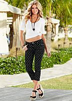 Clearance Women's Pants in Gaucho, Straight, and Wide Leg Styles