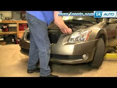 61 best auto repair videos images on pinterest campaign this how to remove install front bumper cover nissan maxima 2004 08 1aauto fandeluxe Gallery