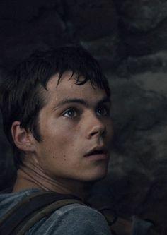 Dylan O'Brien as Thomas 💗💗💗 Dylan Thomas, Bad Boys, Cute Boys, Stiles, Karl Urban, Luke Evans, Ryan Guzman, Charlie Hunnam, Dylan O'brien Hot