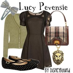 Lucy Pevensie by lalakay, via Polyvore