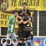 Campeonato de Primera División 2015: Olimpo venció a Aldosivi con dos tantos en contra del mismo jugador
