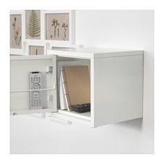 IKEA - LIXHULT, Skap, metall/gul, , Hjelper deg å holde orden på mindre ting som ladere, nøkler og lommebøker, eller større ting…
