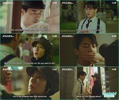 in 1930 jeon seol ask se joo is he the one who save her life back then but he refuse - Chicago Typewriter: Episode 9 korean drama