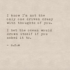 IG- @universeandskinpoetry #poem #poetry #quote #love #ocean #srwpoetry