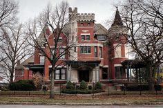 """The Castle""1898 by Louis Kamper.  Barry Subdivision, Detroit {11/09 by Detroit Liger, via Flickr}"