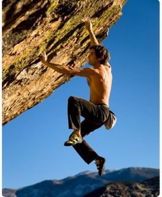 Free Rockclimbling. crazy cool and good for the soul.  The Sharmafund:Chris Sharma