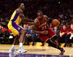 LeBron James Photos - Cleveland Cavaliers v Los Angeles Lakers - Zimbio