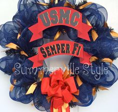 United States Marine Corps Semper Fi Military by SummervilleStyle, $73.00