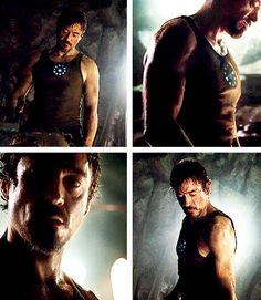 A little Tony Stark arm porn for you