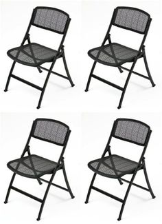 Mity Lite Mesh One Folding Guest Chair Black 4 Pack Mit Https