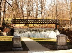 The Falls Bridge in Blairstown, NJ  (in my childhood town)