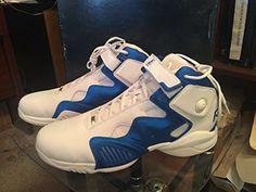3ecbbe24a7c9 Reebok Men s ATR Pump - White Royal - Basketball Shoes size 15.5 Reebok  http