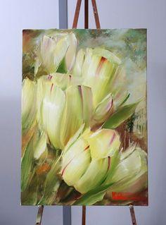 Resultado de imagen para plantas con flores pinturas acrilicas