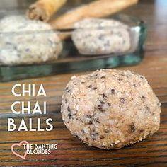 Chai Tea Fat Bomb Amazballs Balls. LCHF, banting and Keto friendly :)