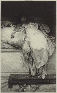 Henrique Bernardelli (1858-1936), Messalina - 1878/86