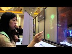 Mist-Powered Interactive Display